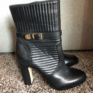 NWOT Vince Camuto black leather boots